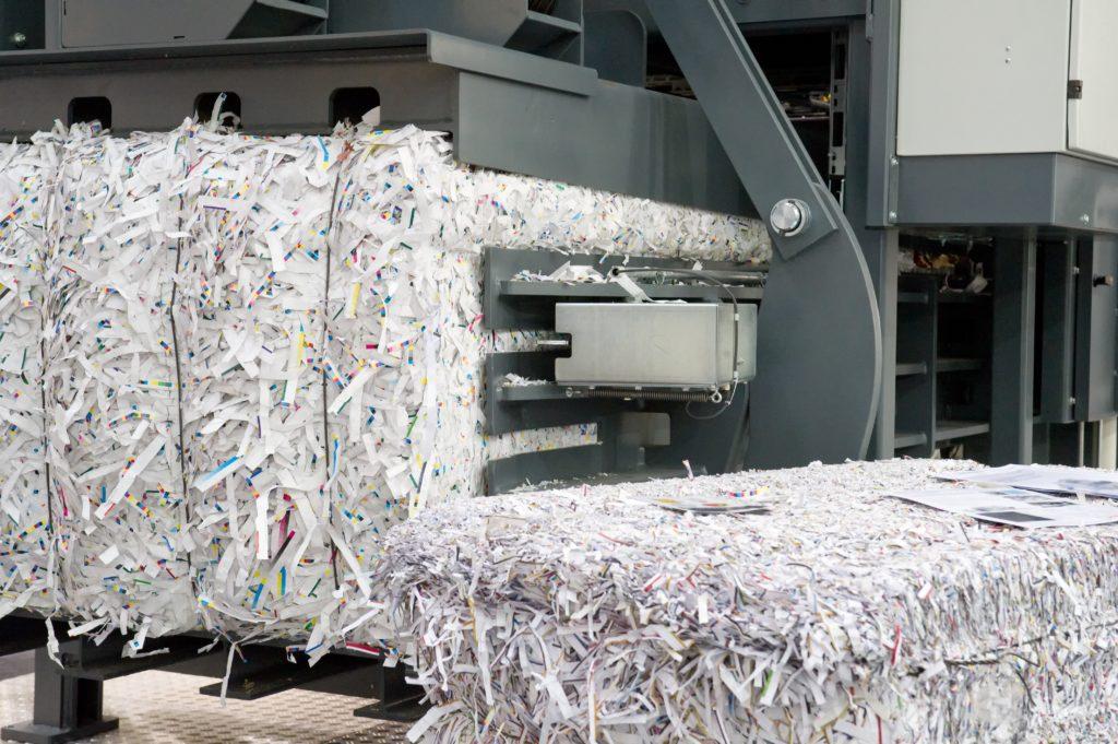 bulk paper recycling